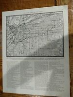 1942 Street Map Of A Section Of Kansas City Missouri
