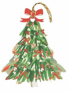 Glick Evergreen Christmas Tree Luxury Gift Tags Pack Of 6/MTSX16