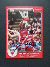 (1) 1985 Star Michael Jordan #101 RC AUTO - NOVELTY REPRINT - RNL Lot 2146