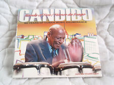 CANDIDO HANDS OF FIRE MANOS DE FUEGO CD NEW 60 YEARS OF CUBAN MUSIC EXPERIENCE