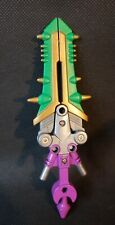 "2002 POWER RANGERS Wild Force Savage Battle Lunar Wolf PART Sword 5.5"" Large"