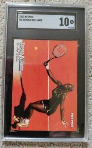 2003 Netpro Serena Williams #1 SGC 10 ROOKIE (B)