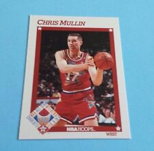1991/92 Hoops Basketball Chris Mullin Card #268***West All-Star***