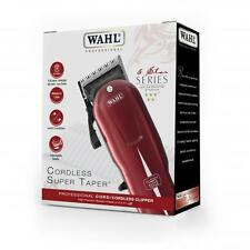 WAHL PROFESSIONAL 5 STAR SUPER TAPER CORD & CORDLESS RECHARGEABLE 100-240V