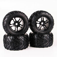 4X Bigfoot Tires Wheel Rim Tyre For RC 1:8 Monster Truck TRAXXAS Summit HPI