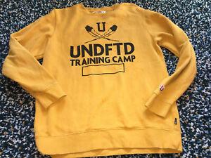 Undefeated Undftd Mustard Seeatshirt Size M