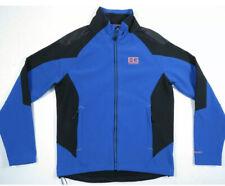 new Bear Grylls Craghoppers Blue Black Softshell full Zip Jacket Mens Xxl