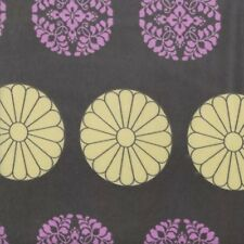 Amy Butler VVAB001 Alchemy Pressed Flowers Zinc Cotton Velveteen Fabric By Yard