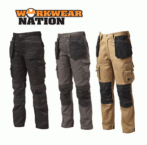 Apache Holster Trousers Cordura Workwear Work Protective Knee Pad - 4 Colours