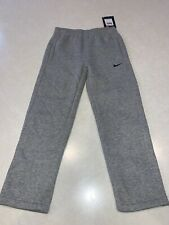Nike Boys Athletic Sweat Pants Gray Size 6 NWT