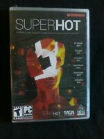 Superhot First Person Shooter PC DVD-ROM Game New Factory Sealed Physical Disc