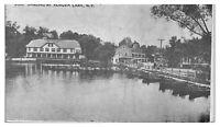 Boat Landing at Kenoza Lake, NY Postcard *5A