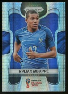 2018 Panini Hyper Prizm World Cup Soccer #80 Kylian Mbappe France RC Rookie