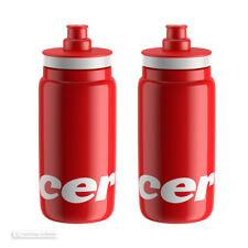 NEW Elite 2018 CERVELO Lightweight Bicycle Water Bottle 550 ml - 2 PACK