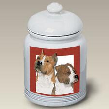 American Staffordshire Terriers Treat Jar