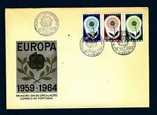 PORTUGAL - PORTOGALLO - 1964 - Europa - Fiore con 22 petali - (S)