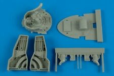 Aires  1/48 F8F1 Wheel Bay For HBO (Resin)  AHM4574