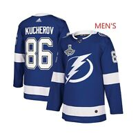 Men's Nikita Kucherov #86 Blue 2020 Champions Path Jersey