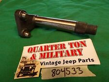 "Jeep Willys M38 steering sector shaft 15/16"" special use (see description)"