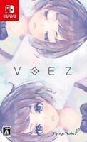 NEW Nintendo Switch VOEZ JAPAN OFFICIAL IMPORT FREE SHIPPING