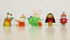 Hallmark Merry Miniatures - Animals in Halloween Costume (lot of 5)