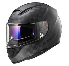 CASCO MOTO INTEGRALE LS2 FF397 VECTOR CT2 SINGLE MONO CARBON/NERO OPACO TG.XXL