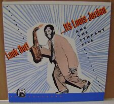 Look Out It's Louis Jordan and The Tympany Five Import Charly Records CRB 1048