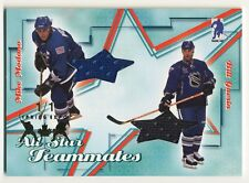 2003-04 BAP All-Star Teammates MIKE MODANO GUERIN Dual Jersey Spring Expo SP 1/1