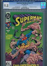 Superman: The Man of Steel #17 (1st Doomsday)  CGC 9.8  WP