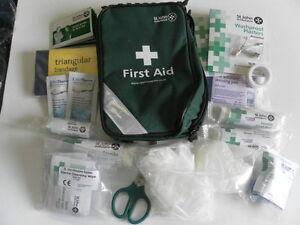 St John Ambulance Motoring First Aid Kit - Zenith Pouch
