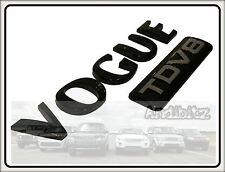 Ultimate range Rover L322 Vogue Noir Brillant TDV8 badge Coffre Arrière Hayon