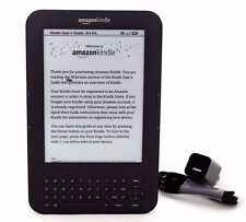 "Kindle Keyboard (3rd Gen), 4GB, Wi-Fi + 3G, 6"", Scratch & Dent, Graphite, 12-2E"