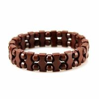Power Ionic Health Tourmaline Special Beads Bracelet Yoga Wristband w/ Box Stret