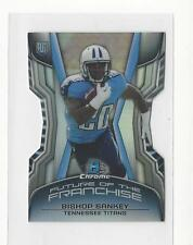 2014 Bowman Chrome Future of the Franchise Minis Die Cut Bishop Sankey Titans