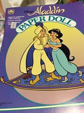 Aladdin Paper Doll 1992  #1606
