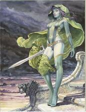 GAMORA POSTER BY MILO MANARA MARVEL COMICS 24x36 NEW GUARDIANS OF THE GALAXY