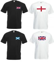 Men Women T-Shirt Union Jack Great Britain Shirt UK Flag Unisex England