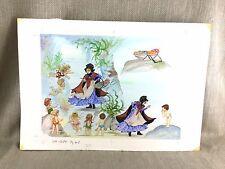 The Water Babies Book Original Artwork Illustration Painting  Fantasy Art