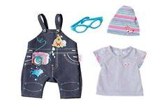 Zapf Creation Baby Born Muñeca pijamas & zapatos Rosas juego