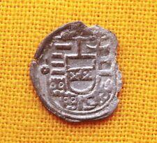 Medieval Habsburg Coin - Ferdinand Silver Obolus, 1528. C - Lily, Kassa, RR!