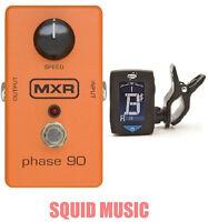 MXR Phase 90 Pedal M-101 ( FREE DUNLOP CLIP ON GUITAR TUNER ) M101