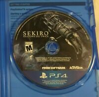 Sekiro: Shadows Die Twice (PlayStation 4, 2019) PS4 Disk Only