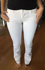 JOE'S JEANS Women's White Slight Flare Honey Fit Jeans Size 27 NEW