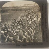 WWI Germans Captured By American Forces In France Keystone Stereoview