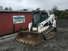 2018 Bobcat T650 Compact Track Skid Steer Loader With Cab Sjc Controls 3400hrs
