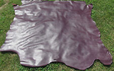 """Gorgeous Edelman Leather """"KID CALF"""" in Plum Aprox. 22 SQ FT"""