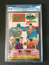 CGC 9.0 VF/NM NEAR MINT WORLD´S FINEST  # 172  US EDITION C/OWP YOP 1967