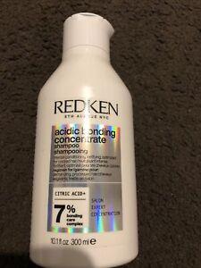 Redken Acidic Bonding Concentrate  Shampoo 300ml For Damaged Hair 300ml NEW