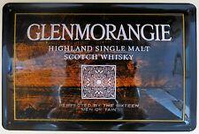 Glenmorangie, chapa escudo, single malt whisky escocés