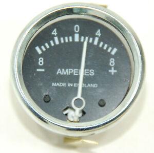 8A Amperemeter 8-0-8 Ammeter 36084 Wassell made  Diameter 1 3/4 BSA Triump